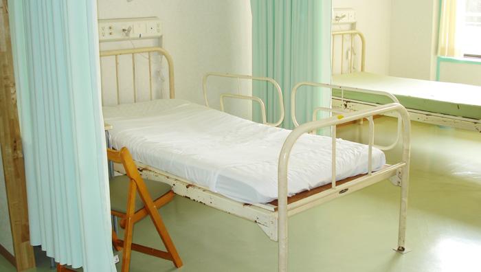 画像:病室の様子