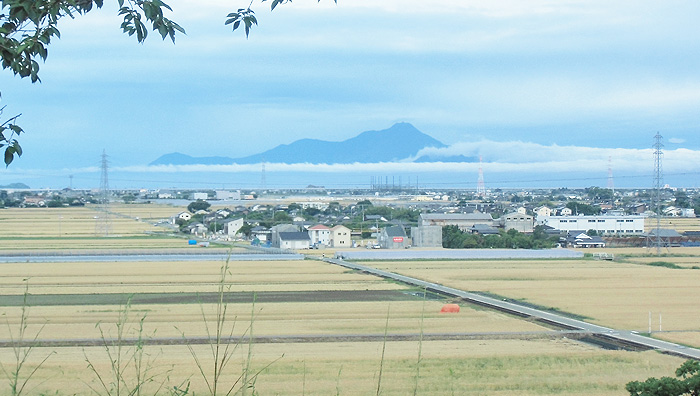 画像:熊本光洋台からの風景